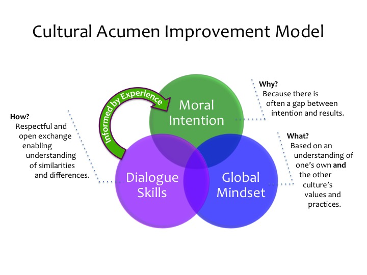 cultural acumen improvement model